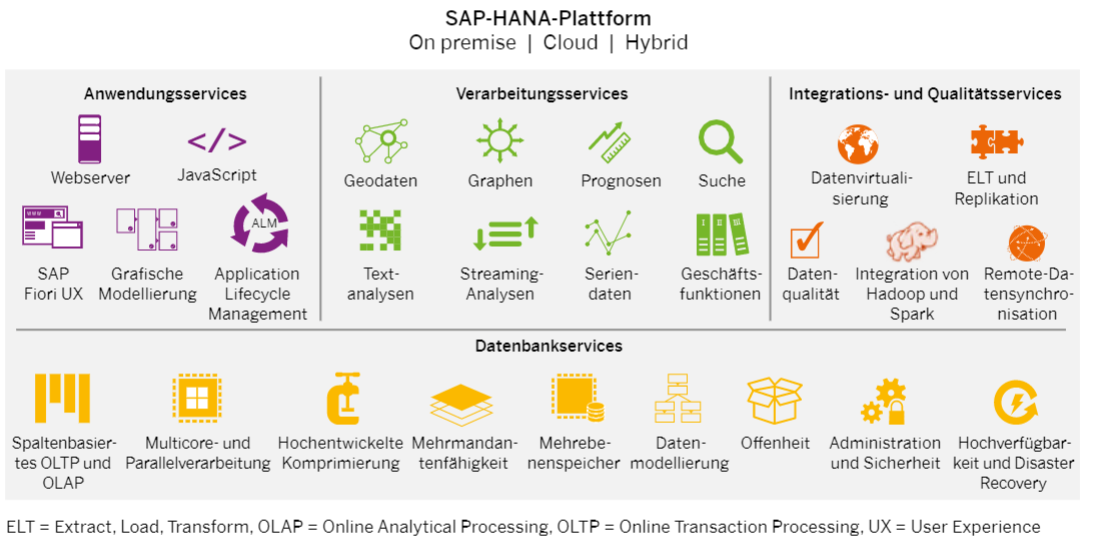 SAP HANA PLATTFORM