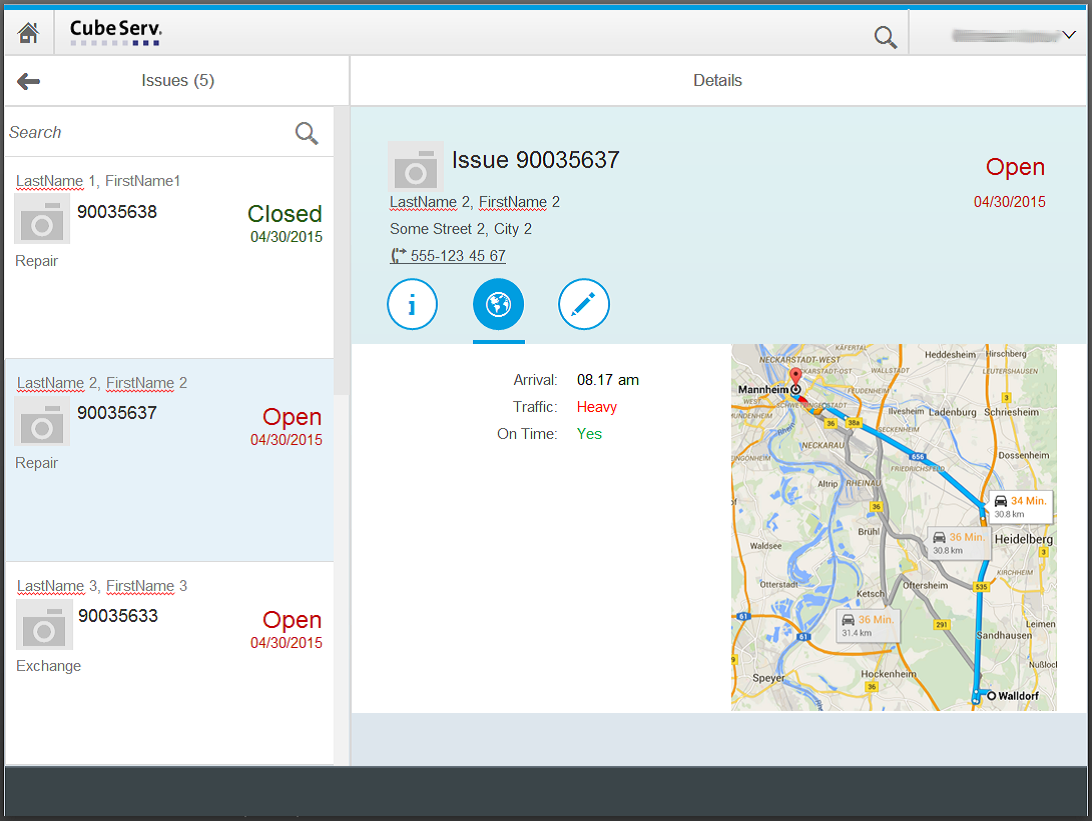 SAPUI5 Google Maps Integration