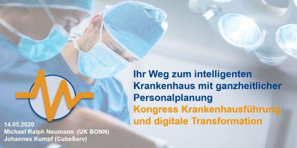Ihr Weg zum intelligenten Krankenhaus mit ganzheitlicher Personalplanung