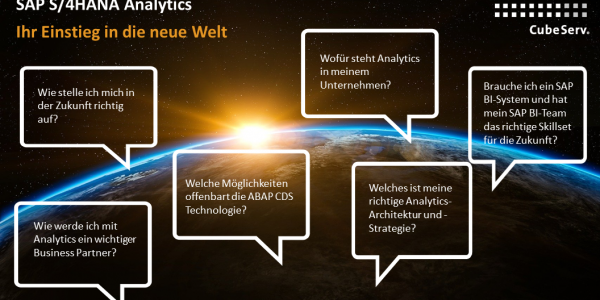 SAP S/4HANA Analytics Webina
